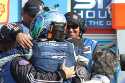 Winning Spirit of Daytona team celebrates
