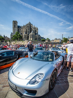 Supercars display: Porsche 918 Spyder