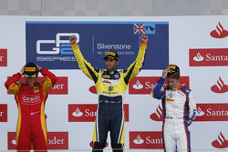 GP2: Podium: race winner Felipe Nasr, second place Stefano Coletti, third place Johnny Cecotto