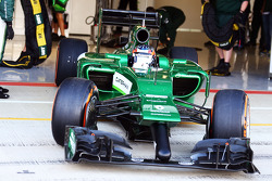 F1: Will Stevens, Caterham CT05 Test Driver