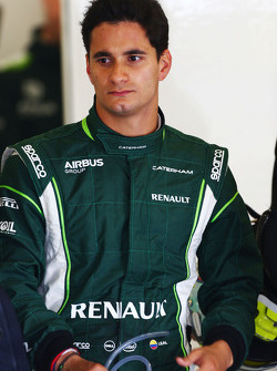 Julian Leal, Caterham F1 Team Test Driver