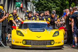 LEMANS: #73 Corvette Racing Chevrolet Corvette C7