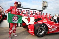 Polesitter Scott Dixon, Target Chip Ganassi Racing Chevrolet