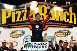 NASCAR-TRUCK: Race winner Erik Jones celebrates
