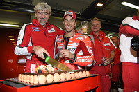 Gigi Dall'Igna, Ducati Corse general manager celebrates his birthday with Andrea Dovizioso