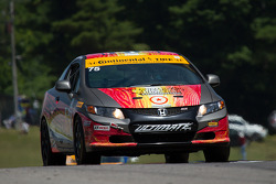 #75 Compass360 Racing Honda Civic: Kyle Gimple, Ryan Eversley