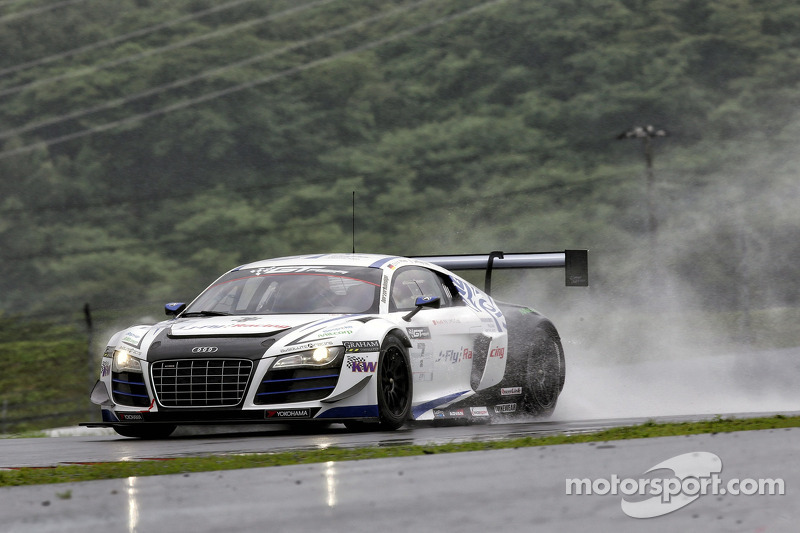 #7 Absolute Racing Audi R8 LMS ultra GT3: Jeffrey Lee, Christopher Mies