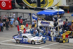 NASCAR-CUP: Brian Vickers, Michael Waltrip Racing Toyota