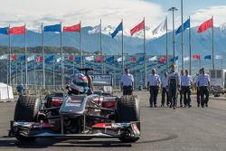 Sergey Sirotkin, Sauber F1 test driver