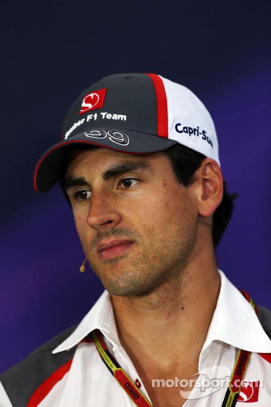 Adrian Sutil, Sauber in the FIA Press Conference