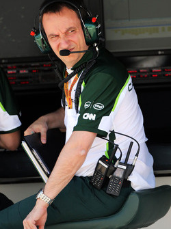 Gianluca Pisanello, Caterham F1 Team Head of Trackside Engineering