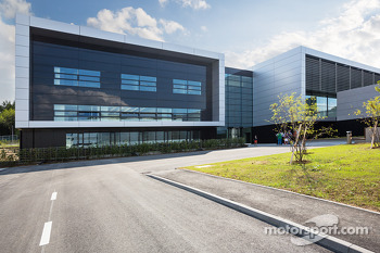 The Porsche development centre in Weissach