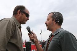 Gerhard Berger on the grid