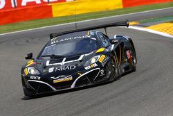 BES: #15 Boutsen Ginion McLaren MP4-12C: Karim Ojjeh, Olivier Grotz, Frederic Vervisch, Giorgio Pantano