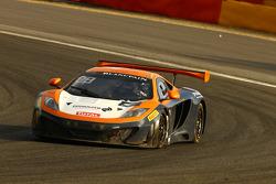 BES: #101 Von Ryan Racing McLaren MP4-12C: Tim Mullen, Rob Bell, Shane van Gisbergen