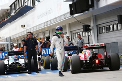 F1: Felipe Massa, Williams in parc ferme