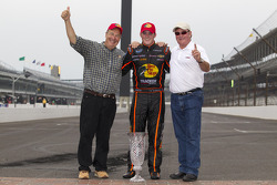 Race winner Ty Dillon with Richard Childress