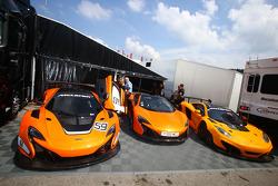 McLaren stand