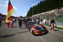 #18 Black Falcon Mercedes SLS AMG GT3: Richard Muscat, Vladimir Lunkin, Saud Turki Al Faisal, Christian Bracke