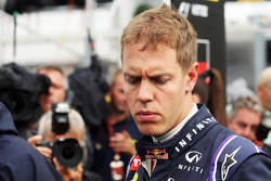 Sebastian Vettel, Red Bull Racing on the grid.