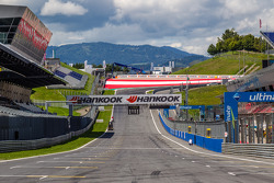 Pitlane straight at Red Bull Ring