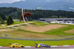Gary Paffett, HWA DTM Mercedes AMG C-Coupé, Timo Glock, BMW Team MTEK BMW M4 DTM