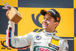 Podium: second place Augusto Farfus, BMW Team RBM BMW M4 DTM