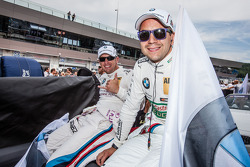 Joey Hand, BMW Team RBM BMW M4 DTM and Augusto Farfus, BMW Team RBM BMW M4 DTM