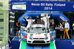 WRC: Second place Sébastien Ogier and Julien Ingrassia