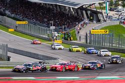 Antonio Felix da Costa, BMW Team MTEK BMW M4 DTM, Miguel Molina, Audi Sport Team Abt Sportsline Audi RS 5 DTM, Mattias Ekström, Audi Sport Team Abt Sportsline Audi RS 5 DTM