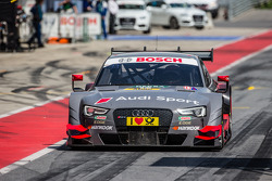 Drive-through for Edoardo Mortara, Audi Sport Team Abt Audi RS 5 DTM