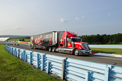 Hauler of Kyle Larson, Ganassi Racing Chevrolet