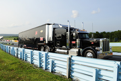 Tommy Baldwin Racing hauler