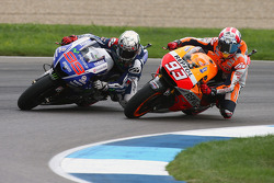 MOTOGP: Jorge Lorenzo and Marc Marquez