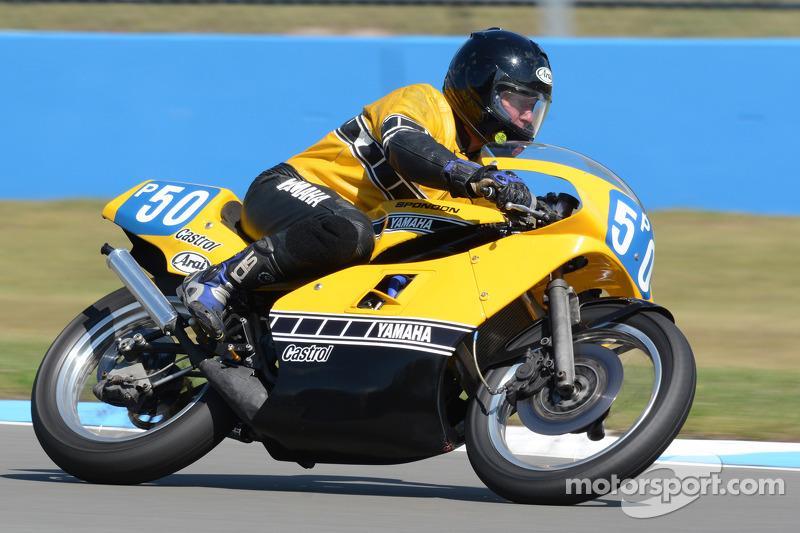 Philip Godber Yamaha Tz F 350cc Op Classic Motorcycle Festival Motorrace Overig Foto 39 S