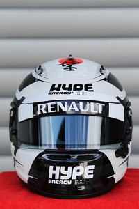 The helmet of Andre Lotterer, Caterham F1 Team