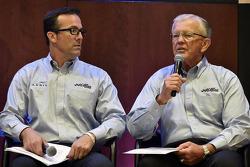 Carl Edwards and Daniel Suarez JGR announcement