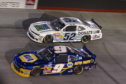 Chase Elliott and Joey Gase