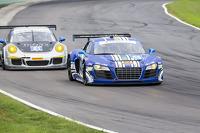 #46 Fall-Line Motorsports Audi R8 LMS: Charles Espenlaub, Charlie Putman, Marino Franchitti
