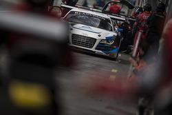 #5 Phoenix Racing Audi R8 LMS Ultra: Marc Basseng, Alessandro Latif