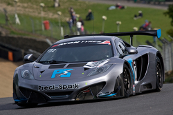 #22 Preci -Spark Mclaren MP4 12C: David Jones, Godfrey Jones