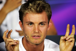 F1: Nico Rosberg, Mercedes AMG F1 in the FIA Press Conference