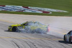 Matt Kenseth, Joe Gibbs Racing Toyota in trouble