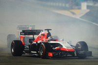 Jules Bianchi, Marussia F1 Team MR03 at the start of the race