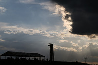 Weather rolls in over COTA