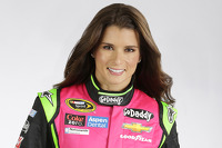 Danica Patrick special firesuit for Breast Cancer Awareness