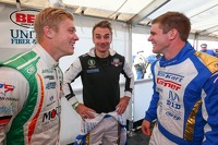 Spencer Pigot, Jay Howard and Conor Daly