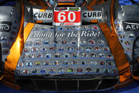 Special livery on the #60 Michael Shank Racing with Curb/Agajanian Ford EcoBoost/Riley