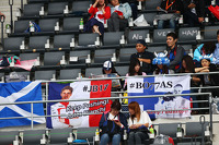 Banners for Jules Bianchi, Marussia F1 Team and Valtteri Bottas, Williams