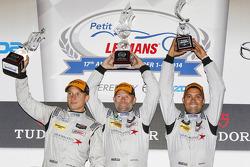 PC class podium: winners Mirco Schultis, Renger van der Zande, Alex Popow